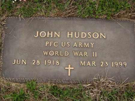 HUDSON  (VETERAN WWII), JOHN - Washington County, Arkansas | JOHN HUDSON  (VETERAN WWII) - Arkansas Gravestone Photos