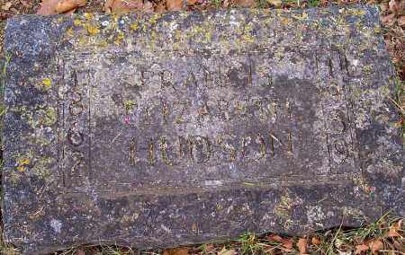 HUDSON, FRANCIS ELIZABETH - Washington County, Arkansas | FRANCIS ELIZABETH HUDSON - Arkansas Gravestone Photos