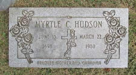 HUDSON, MYRTLE - Washington County, Arkansas | MYRTLE HUDSON - Arkansas Gravestone Photos