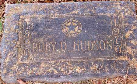 HUDSON, RUBY D. - Washington County, Arkansas | RUBY D. HUDSON - Arkansas Gravestone Photos