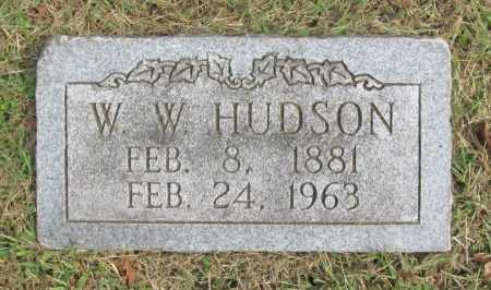 "HUDSON, WILLIAM WILSON ""WILKS"" - Washington County, Arkansas 