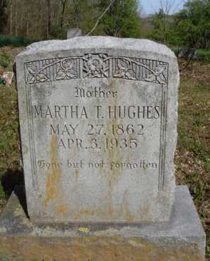 HUGHES, MARTHA T. - Washington County, Arkansas | MARTHA T. HUGHES - Arkansas Gravestone Photos