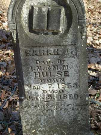HULSE, SARAH J. - Washington County, Arkansas | SARAH J. HULSE - Arkansas Gravestone Photos