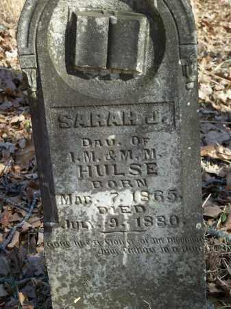 HULSE, SARAH J. - Washington County, Arkansas | SARAH J. HULSE - Arkansas Gravestone Photos