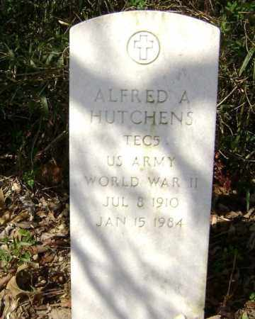 HUTCHENS  (VETERAN WWII), ALFRED A. - Washington County, Arkansas | ALFRED A. HUTCHENS  (VETERAN WWII) - Arkansas Gravestone Photos