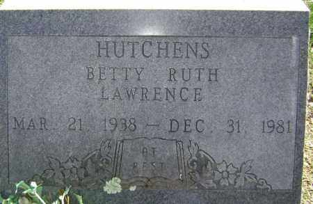 HUTCHENS, BETTY RUTH - Washington County, Arkansas | BETTY RUTH HUTCHENS - Arkansas Gravestone Photos