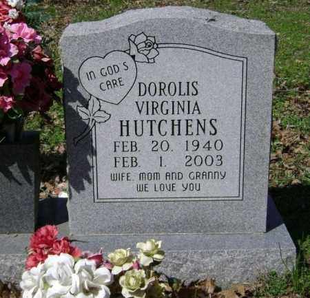HUTCHENS, DOROLIS VIGINIA - Washington County, Arkansas | DOROLIS VIGINIA HUTCHENS - Arkansas Gravestone Photos
