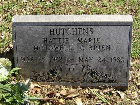 HUTCHENS, HATTIE MARIE - Washington County, Arkansas | HATTIE MARIE HUTCHENS - Arkansas Gravestone Photos
