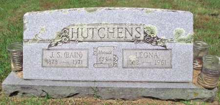 HUTCHENS, J S (BAIN) - Washington County, Arkansas | J S (BAIN) HUTCHENS - Arkansas Gravestone Photos