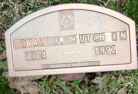 HUTCHENS, OVAL F. - Washington County, Arkansas | OVAL F. HUTCHENS - Arkansas Gravestone Photos