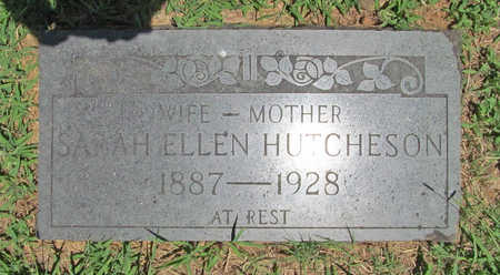 HUTCHESON, SARAH ELLEN - Washington County, Arkansas | SARAH ELLEN HUTCHESON - Arkansas Gravestone Photos