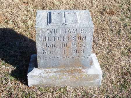 HUTCHESON, WILLIAM S. - Washington County, Arkansas | WILLIAM S. HUTCHESON - Arkansas Gravestone Photos