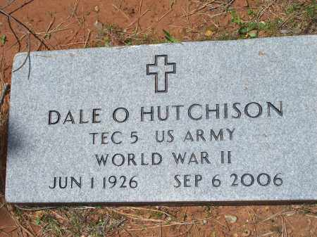 HUTCHISON (VETERAN WWII), DALE ORMAND - Washington County, Arkansas | DALE ORMAND HUTCHISON (VETERAN WWII) - Arkansas Gravestone Photos