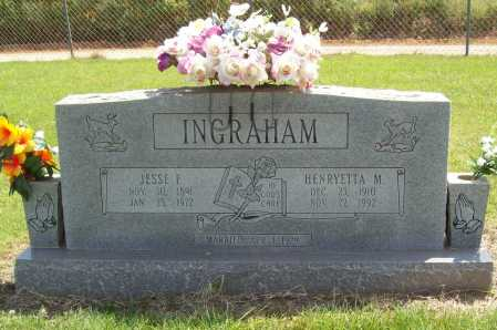 INGRAHAM, JESSE FRANKLIN - Washington County, Arkansas | JESSE FRANKLIN INGRAHAM - Arkansas Gravestone Photos