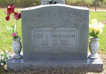 INGRAHAM, ODE LEROY - Washington County, Arkansas | ODE LEROY INGRAHAM - Arkansas Gravestone Photos
