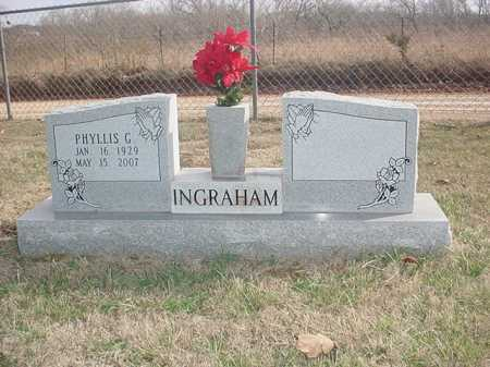 INGRAHAM, PHYLLIS G. - Washington County, Arkansas | PHYLLIS G. INGRAHAM - Arkansas Gravestone Photos