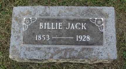 JACK, BILLIE - Washington County, Arkansas | BILLIE JACK - Arkansas Gravestone Photos