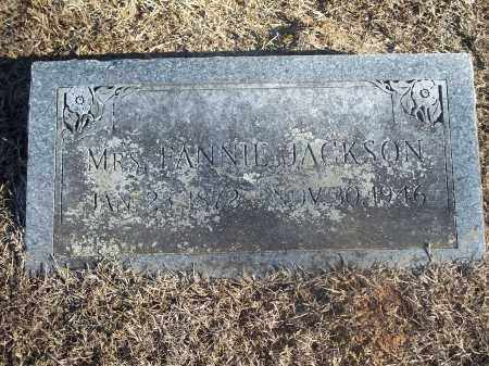 JACKSON, FANNIE - Washington County, Arkansas | FANNIE JACKSON - Arkansas Gravestone Photos