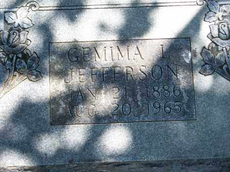 JEFFERSON, GEMIMA L. - Washington County, Arkansas | GEMIMA L. JEFFERSON - Arkansas Gravestone Photos