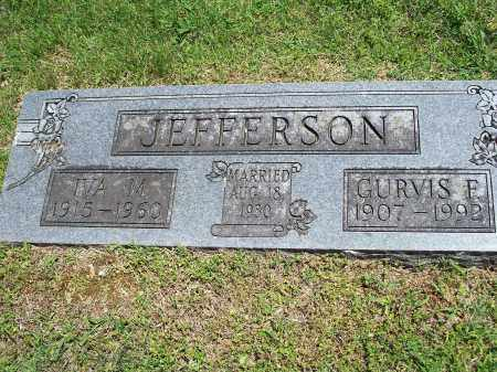 HAZLETT JEFFERSON, IVA MARIE - Washington County, Arkansas | IVA MARIE HAZLETT JEFFERSON - Arkansas Gravestone Photos