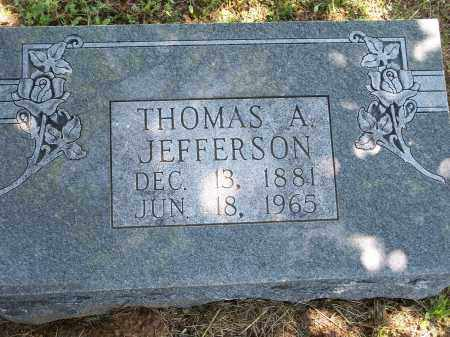 JEFFERSON, THOMAS A. - Washington County, Arkansas | THOMAS A. JEFFERSON - Arkansas Gravestone Photos