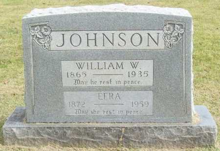 JOHNSON, EFRA - Washington County, Arkansas | EFRA JOHNSON - Arkansas Gravestone Photos