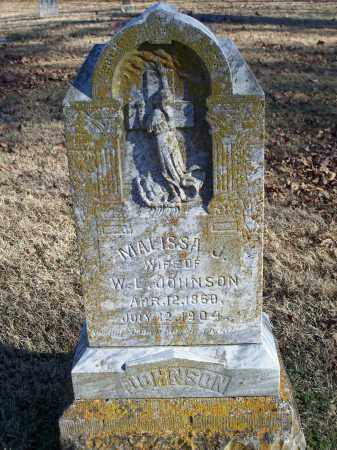 JOHNSON, MALISSA J. - Washington County, Arkansas | MALISSA J. JOHNSON - Arkansas Gravestone Photos