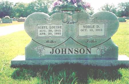 JOHNSON, SIBYL LOUISE - Washington County, Arkansas | SIBYL LOUISE JOHNSON - Arkansas Gravestone Photos