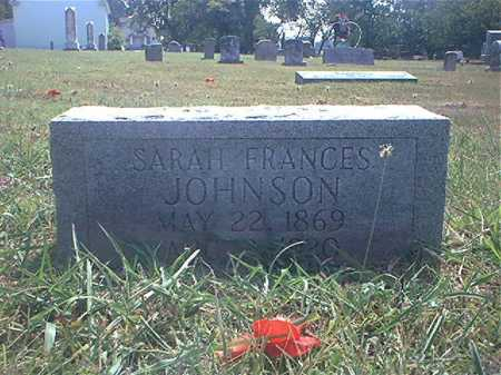 JEFFERY JOHNSON, SARAH - Washington County, Arkansas | SARAH JEFFERY JOHNSON - Arkansas Gravestone Photos