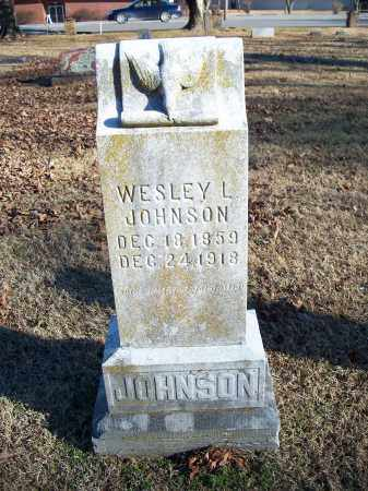 JOHNSON, WESLEY L. - Washington County, Arkansas | WESLEY L. JOHNSON - Arkansas Gravestone Photos