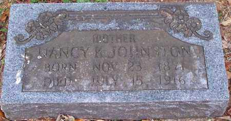 JOHNSTON, NANCY K. - Washington County, Arkansas | NANCY K. JOHNSTON - Arkansas Gravestone Photos