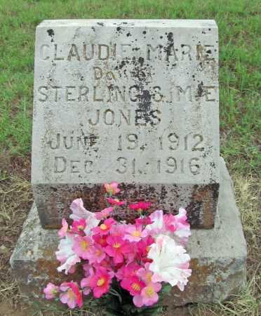 JONES, CLAUDIE MARIE - Washington County, Arkansas | CLAUDIE MARIE JONES - Arkansas Gravestone Photos