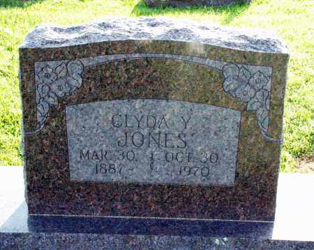 JONES, CLYDA Y. - Washington County, Arkansas | CLYDA Y. JONES - Arkansas Gravestone Photos