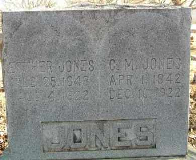 CLARK JONES, ESTHER - Washington County, Arkansas | ESTHER CLARK JONES - Arkansas Gravestone Photos