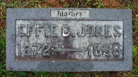 FUZZELL JONES, EFFIE C - Washington County, Arkansas | EFFIE C FUZZELL JONES - Arkansas Gravestone Photos