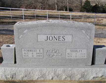 JONES, FORREST E. - Washington County, Arkansas | FORREST E. JONES - Arkansas Gravestone Photos