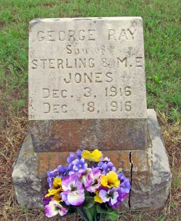 JONES, GEORGE RAY - Washington County, Arkansas | GEORGE RAY JONES - Arkansas Gravestone Photos