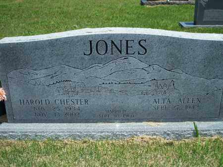 JONES, HAROLD CHESTER - Washington County, Arkansas | HAROLD CHESTER JONES - Arkansas Gravestone Photos
