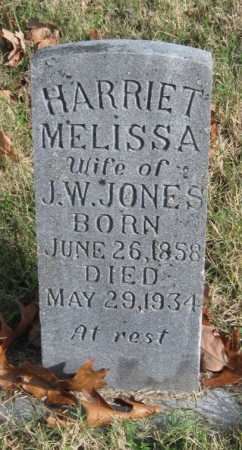 JONES, HARRIET MELISSA - Washington County, Arkansas | HARRIET MELISSA JONES - Arkansas Gravestone Photos