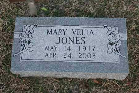 JONES, MARY VELTA - Washington County, Arkansas | MARY VELTA JONES - Arkansas Gravestone Photos
