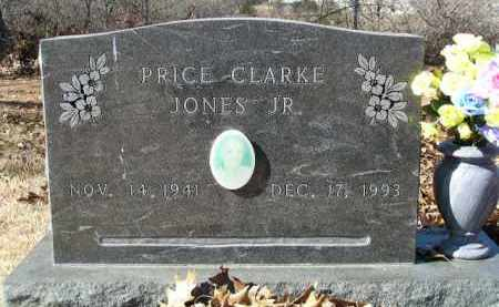 JONES, JR., PRICE CLARK - Washington County, Arkansas | PRICE CLARK JONES, JR. - Arkansas Gravestone Photos