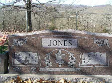 JONES, JR., VICTOR F. - Washington County, Arkansas | VICTOR F. JONES, JR. - Arkansas Gravestone Photos