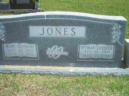 JONES, WYMAN CHESTER - Washington County, Arkansas | WYMAN CHESTER JONES - Arkansas Gravestone Photos