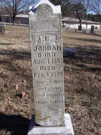 JORDAN, J.F. - Washington County, Arkansas | J.F. JORDAN - Arkansas Gravestone Photos