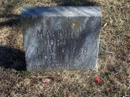 JORDAN, MARTHA A. - Washington County, Arkansas | MARTHA A. JORDAN - Arkansas Gravestone Photos