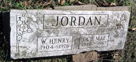 JORDAN, OCIE MAE - Washington County, Arkansas | OCIE MAE JORDAN - Arkansas Gravestone Photos