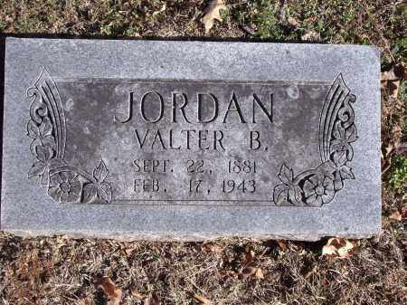 JORDAN, VALTER B. - Washington County, Arkansas | VALTER B. JORDAN - Arkansas Gravestone Photos