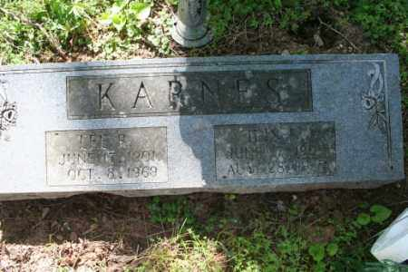 KARNES, LEE R. - Washington County, Arkansas | LEE R. KARNES - Arkansas Gravestone Photos