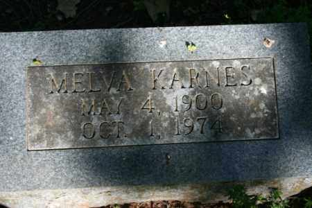 KARNES, MELVA - Washington County, Arkansas | MELVA KARNES - Arkansas Gravestone Photos