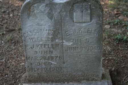 KEELER, E. J. - Washington County, Arkansas | E. J. KEELER - Arkansas Gravestone Photos
